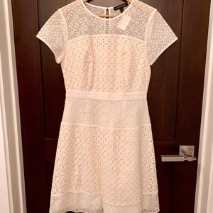 Lace cream dress... the little BR dress to impress
